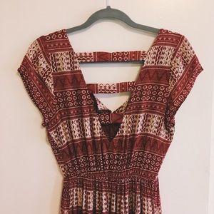 Forever 21 Geometric Pattern Dress